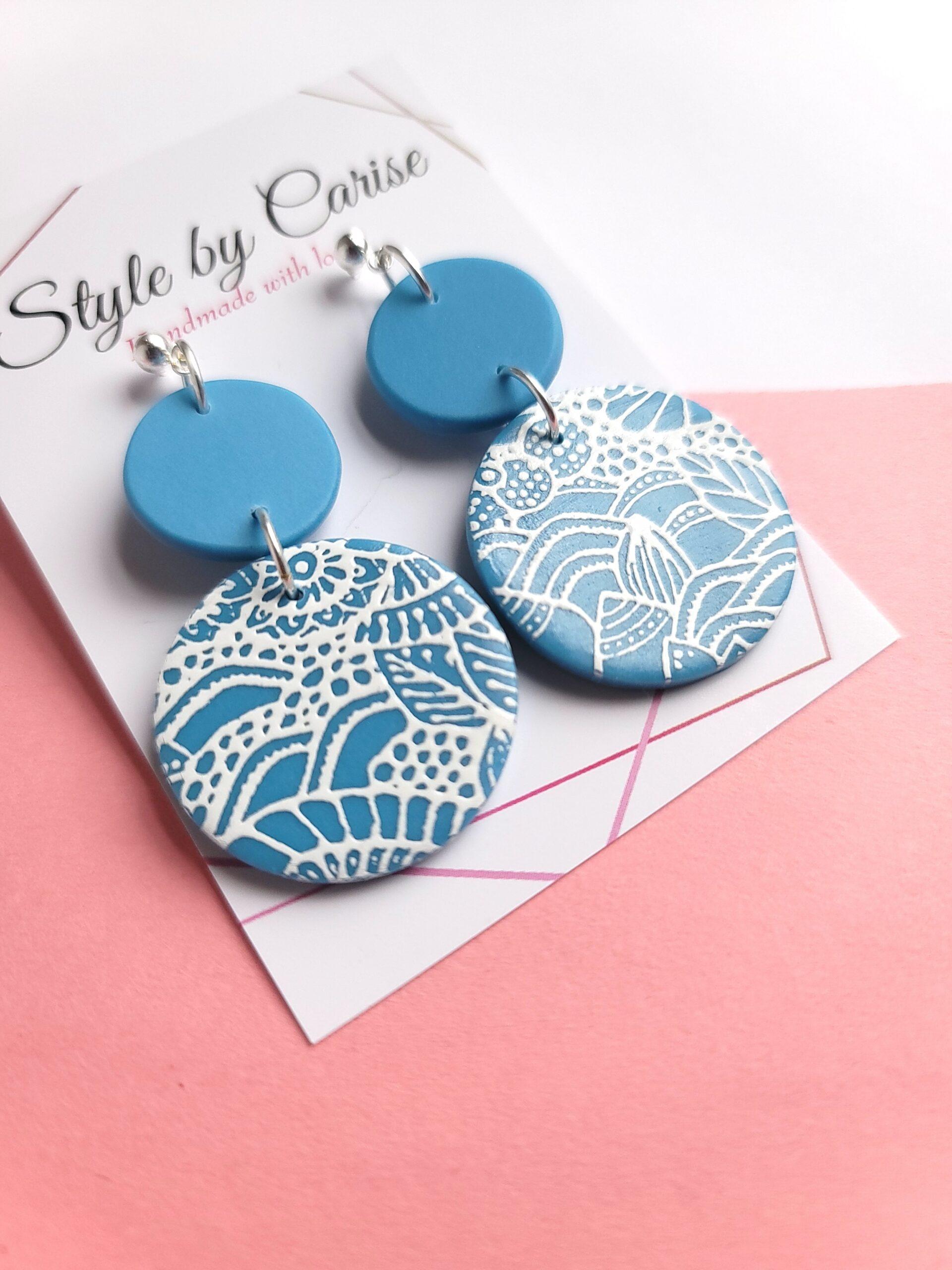 Spring Break Polymer Clay Earrings